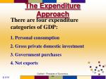 the expenditure approach5