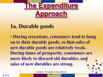 the expenditure approach8
