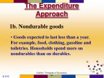 the expenditure approach9