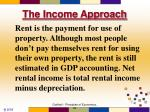 the income approach5
