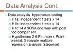 data analysis cont1