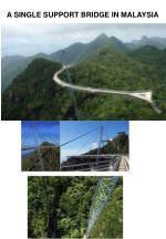 a single support bridge in malaysia