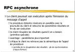 rpc asynchrone