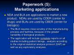 paperwork 5 marketing applications