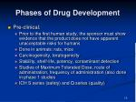 phases of drug development