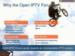 why the open iptv forum