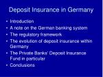 deposit insurance in germany