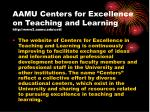 aamu centers for excellence on teaching and learning http www2 aamu edu cetl