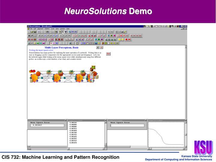 NeuroSolutions