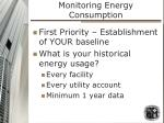 monitoring energy consumption