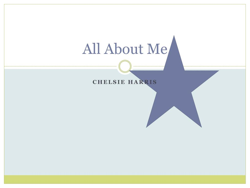 all about me l.