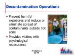 decontamination operations1