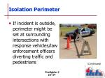 isolation perimeter2