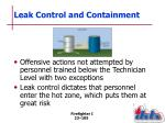 leak control and containment2