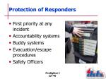 protection of responders