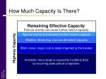 how much capacity is there4