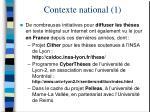 contexte national 1