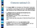 contexte national 2