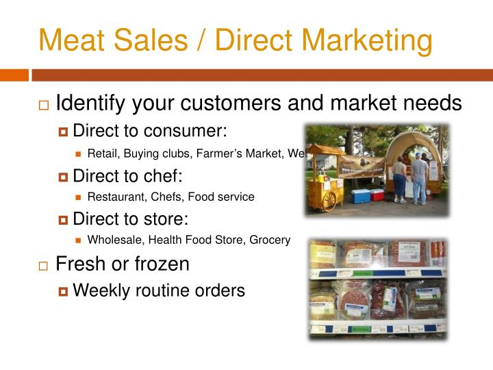 Meat Sales /