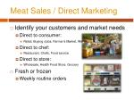meat sales direct marketing