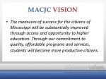 macjc vision