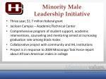 minority male leadership initiative