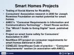 smart homes projects