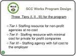 scc works program design