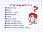 choosing wellness