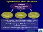 implementation plan components5