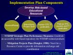 implementation plan components7