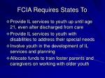 fcia requires states to