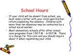 school hours1