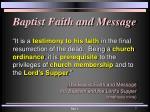 baptist faith and message1