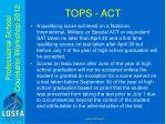 tops act