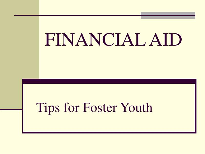 tips for foster youth n.