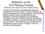 reflection on the tlc pathway process reflections from teachers at dublin heights school