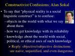 constructivist confusions alan sokal
