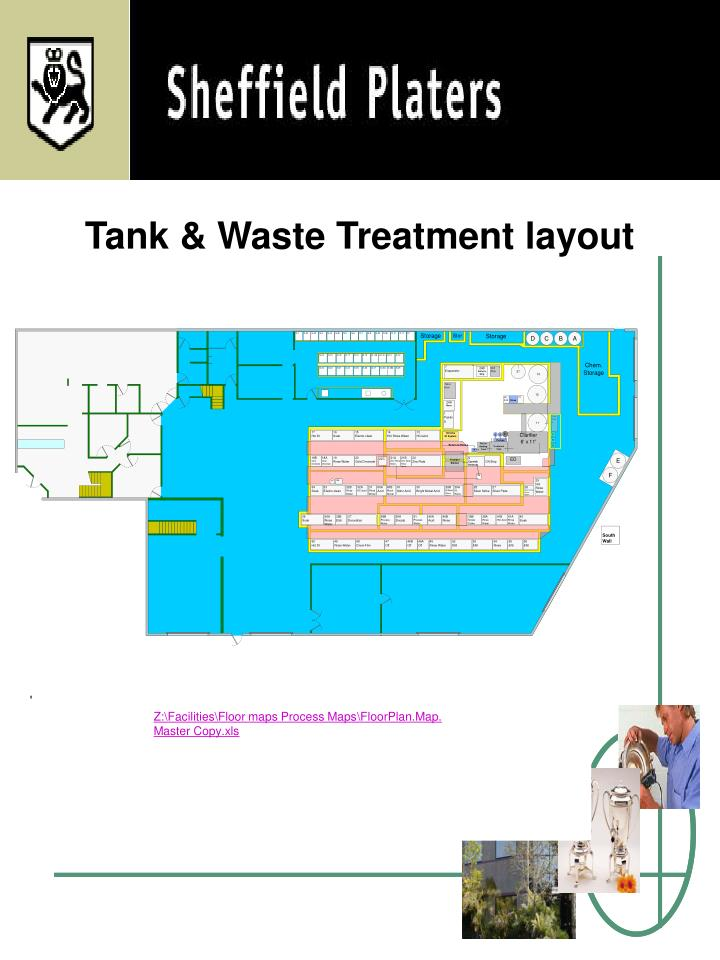 Tank & Waste Treatment layout