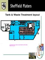tank waste treatment layout