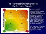 the four quadrant framework for co occurring disorders