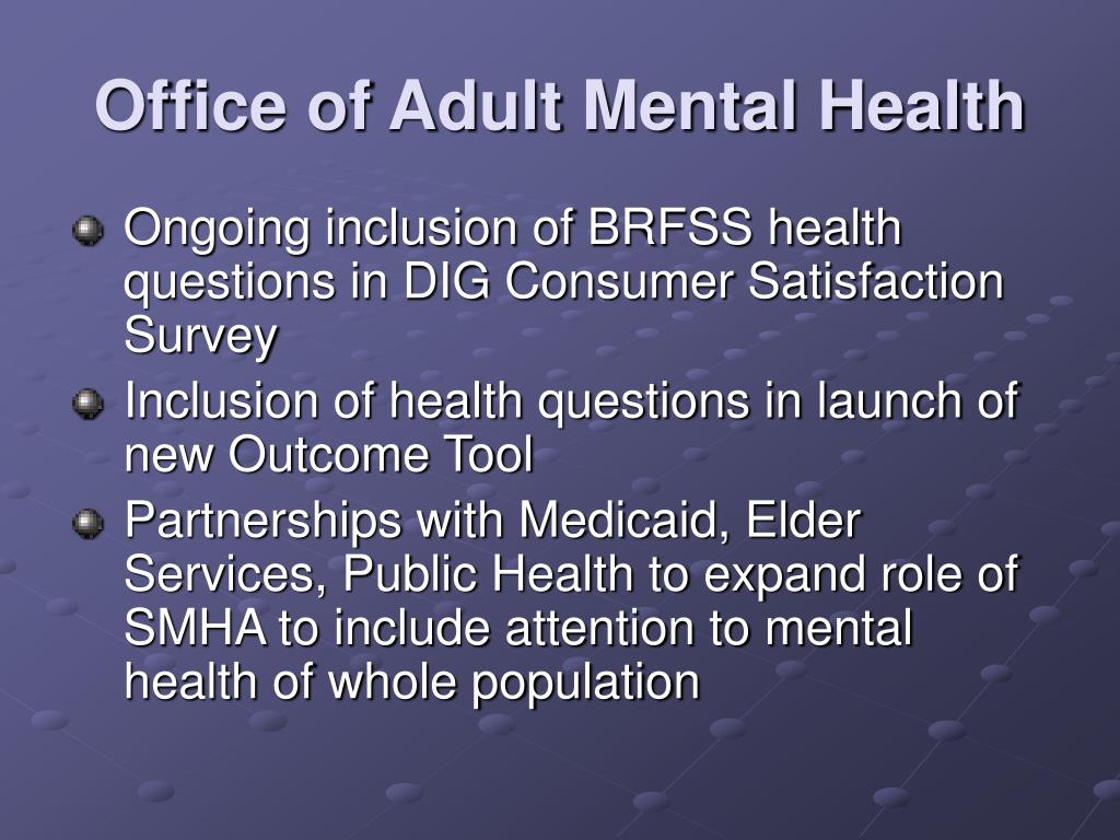 Office of Adult Mental Health