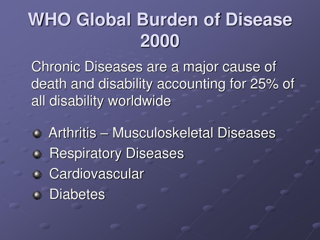 WHO Global Burden of Disease