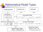 mathematical model types