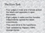 the eyes task2
