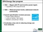 epa energy star program