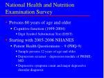 national health and nutrition examination survey9