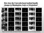 how does the convexity based method handle changes in illumination scale or orientation