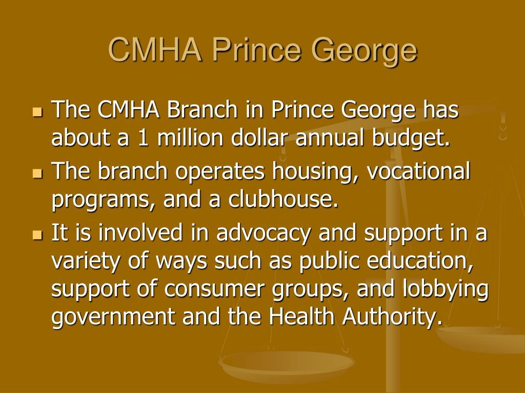 CMHA Prince George