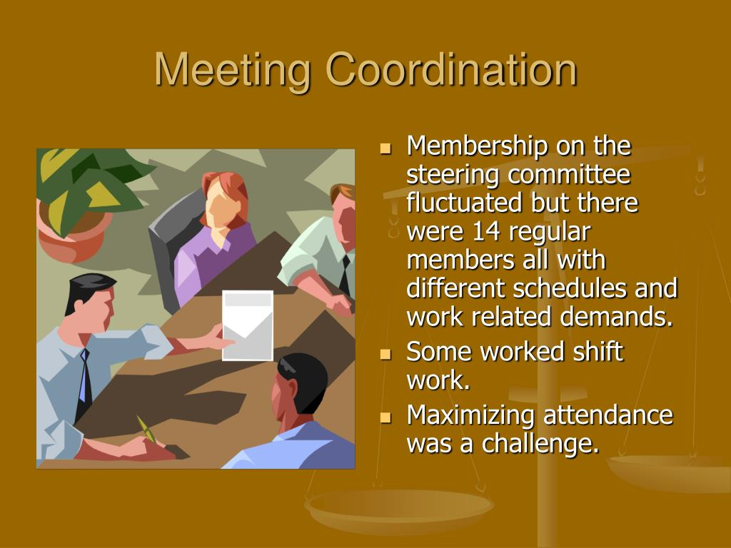 Meeting Coordination